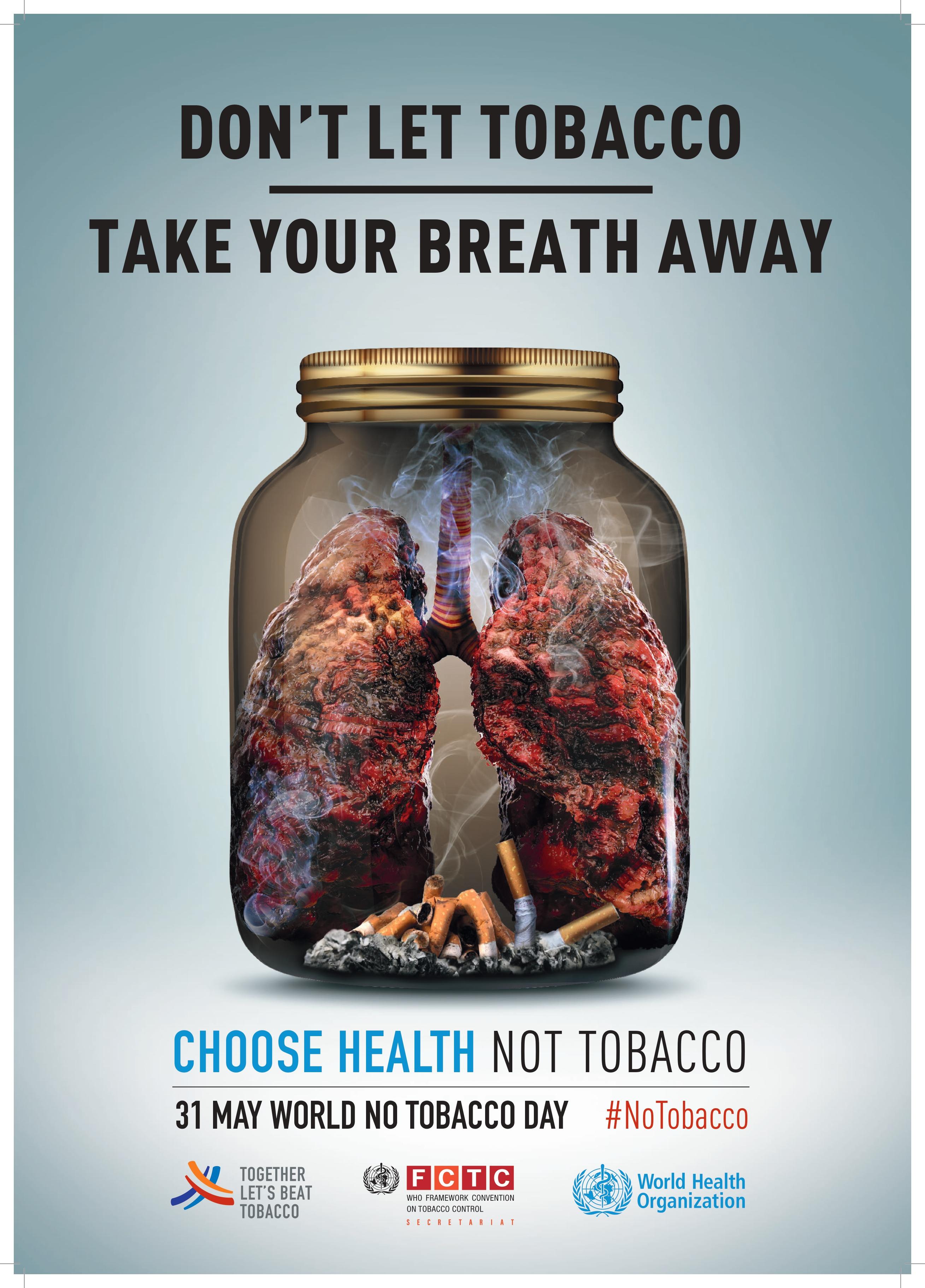 dohányzásellenes kampány címe